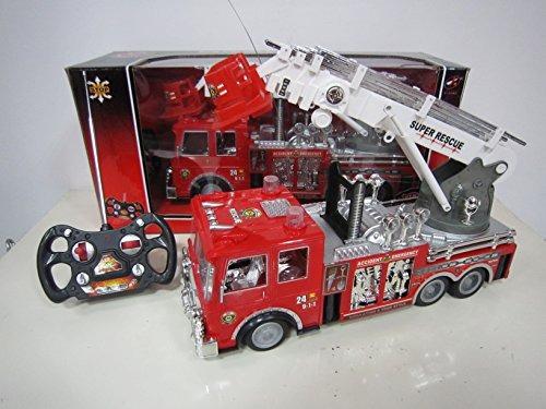 13 \r / c rescate camión de bomberos de control remoto de j