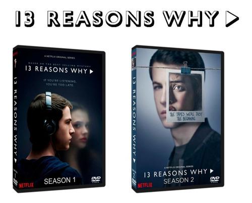 13 reasons why.temporada 1 y 2 dvd.
