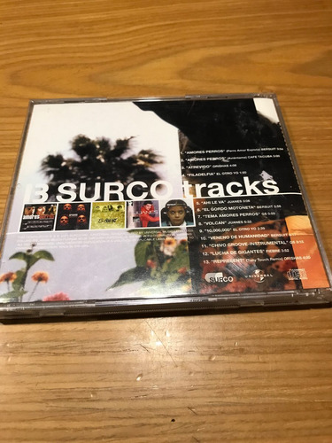13 surco tracks cd bersuit el otro yo cafe tacuba juanes