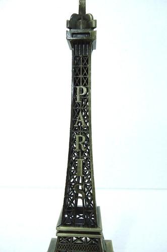 13 torres eiffel em miniatura - 26 cm decoração presente