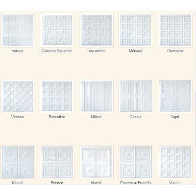 130 placas de  pvc 3d