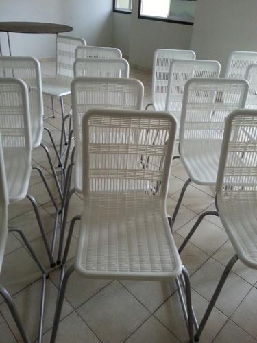 130 sillas parís blancas 600 lechugas negociable