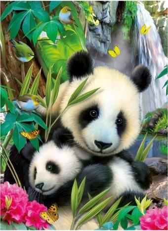 13065 pandas rompecabezas 300 piezas ravensburger