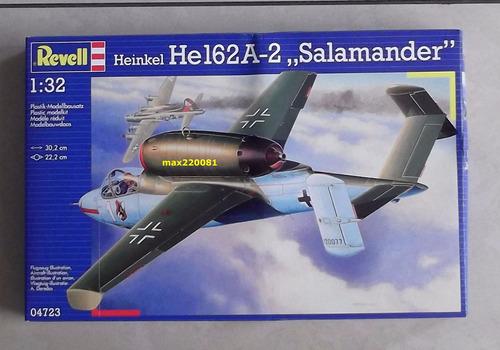 1/32 avion heinkel 162 mirage barco aerografo tanque mig cd