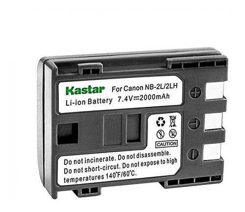 132 bateria recargable para canon xs, xt, xti, 400d