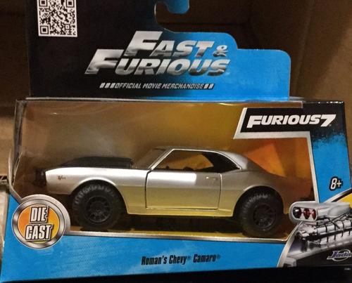 1/32 fast & furious rapido y furioso 7 chevy camaro
