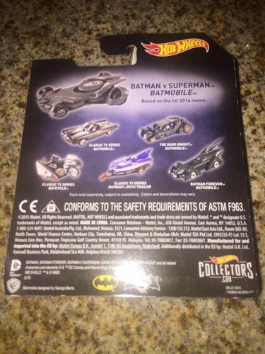1/32 hot wheels batman vs superman batimovil nuevo