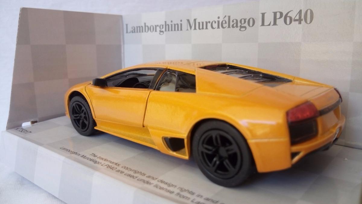 1 32 Lamborghini Murcielago Lp 640 Naranja Kinsmart 540 00 En