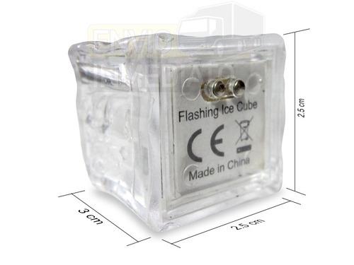 132pzas. led rgb colores tipo hielo sumergible