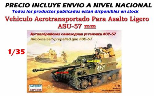 1/35 tanque asu 57 avion sukhoi mi mirage mig helicoptero cd