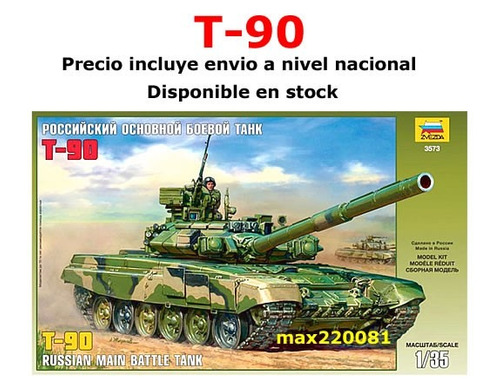 1/35 tanque t 90 vehiculo sukhoi barco mig mirage camion