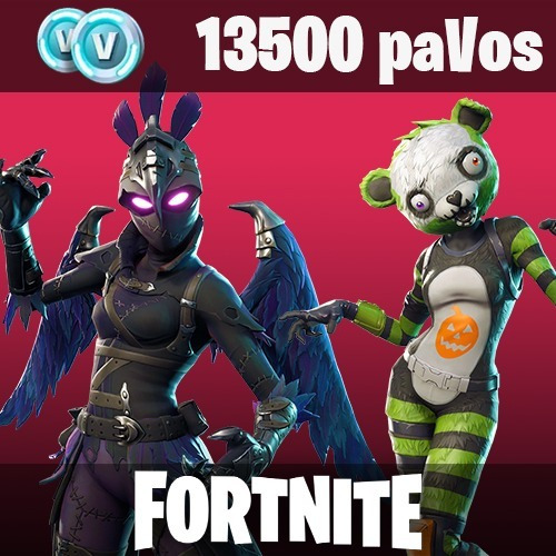 13500 pavos fornite pc/xbox/ps4/swich/android