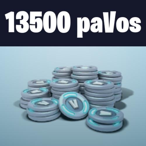 13500 pavos v-bucks fortnite fornite pc - ps4 - xbox