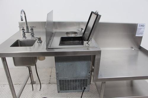 1360 mesa de  refrigeracion para nieve