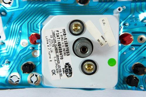 137 palio 16v siena uno painel velocimetro conta giros rpm