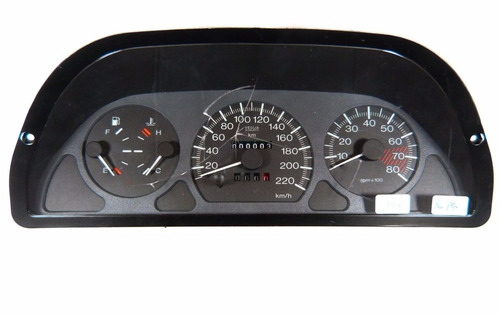 137 palio painel velocimetro com  acrilico perfeito e polido