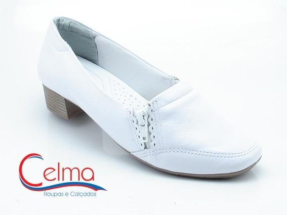 038c92ae2 1386405 Sapato Branco Comfortflex Couro Para Área Da Saúde - R$ 99 ...