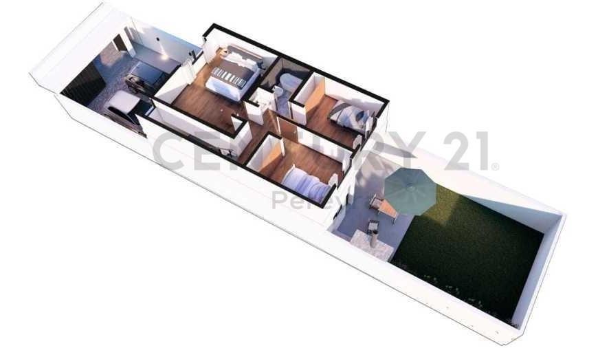 139 entre 50 y 52. casacon 3 dormitorios en venta.