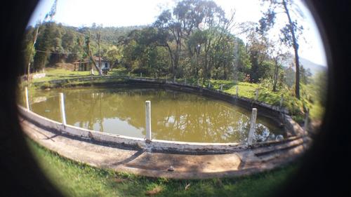 13b terreno com 2 tanques para pesca