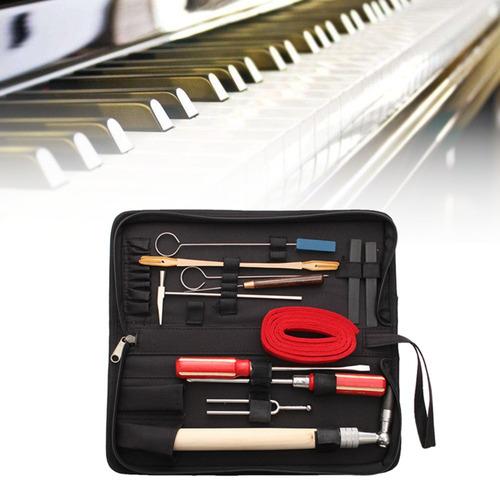13pcs mantenimiento de afinación de piano profesional herram