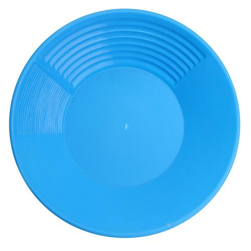 14 blue plastic pan bacia nugget mineração dragagem prospec