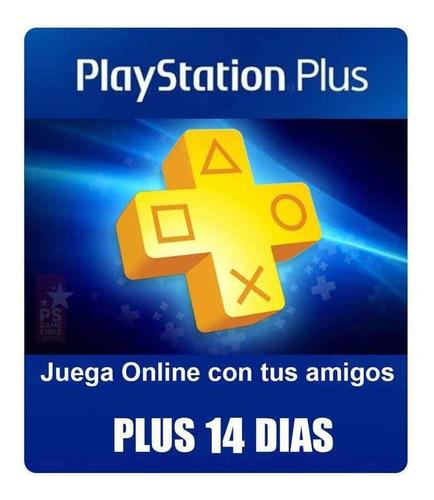 14 dias de playstation plus!!