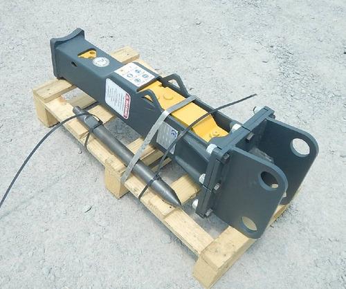 14) martillo hidraulico para miniexcavadora sbk150 nuevo