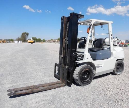 14) montacargas toyota 7fgu35 7700 lbs 2011 gas