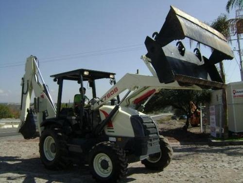 14) retroexcavadora terex 760 4x4 2004 oferta especial