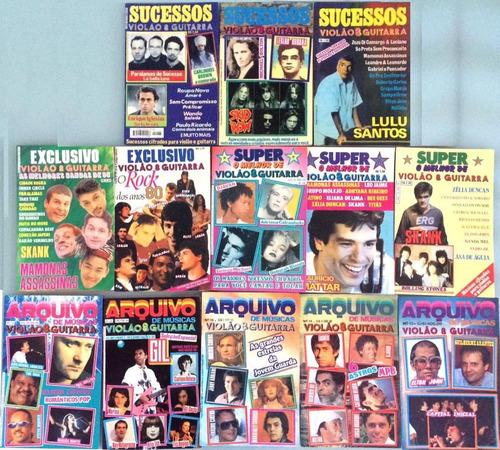 14 revistas violão & guitarra - séries variadas set02