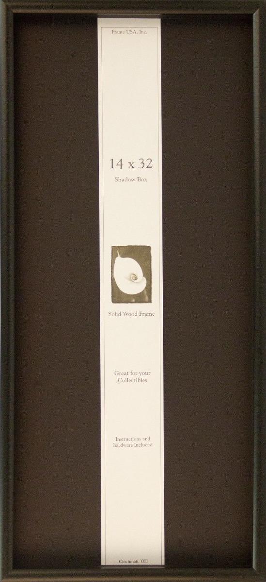 14 X 32 Caja De Sombra Elite Cuadro Marco -... (black) - $ 57.990 en ...