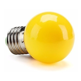 140 Lâmpadas Led Bolinha Led Decorativa Bivolt E27 Amarela