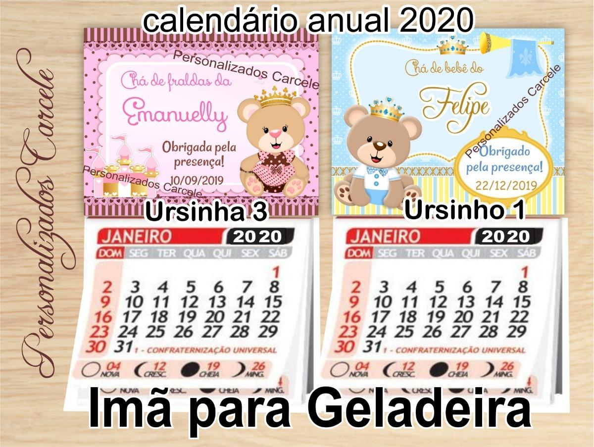 Mini Calendario.140 Mini Calendario Cha Bebe Cha Fraldas Nascimento