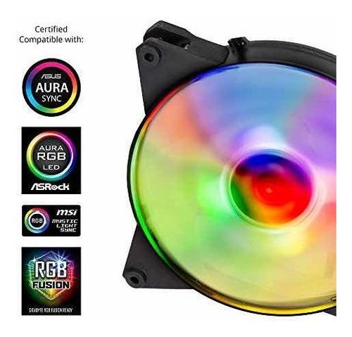 140 mm rgb fan (pack de 3)