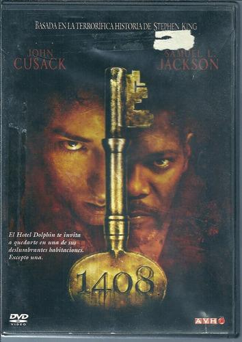 1408 samuel jackson historia de stephen king dvd original
