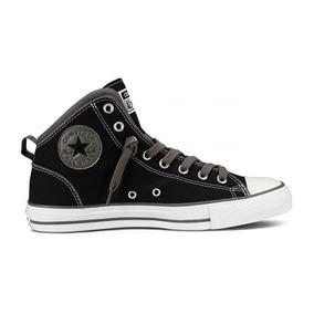 dc99420e Converse Botitas Grises Mujer - Zapatillas Negro en Mercado Libre ...
