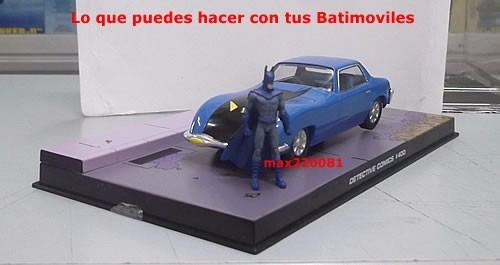 1/43 auto batimovil 6 figura batman 400 comics tumbler 5 2 7