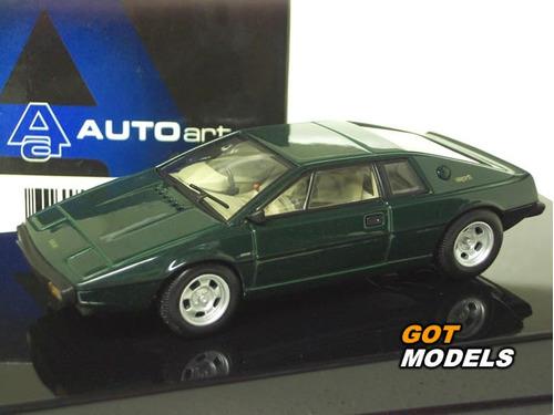 1:43 autoart 55312 lotus type 79'  green - raridade