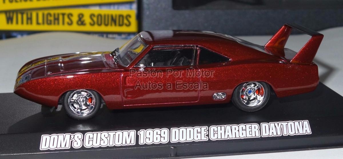 Rápido y el furioso 1969 Dodge Charger Daytona escala 1:43