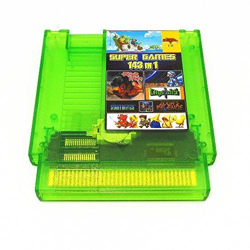 143 en 1 nes super games multi cart 72 pin edición limitada