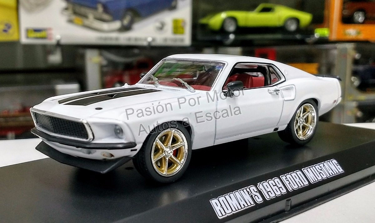 1 43 Ford Mustang 1969 Rapido Y Furioso 6 Greenlight Shelby