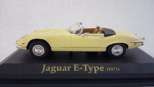 1/43 jaguar e type amarillo 1971