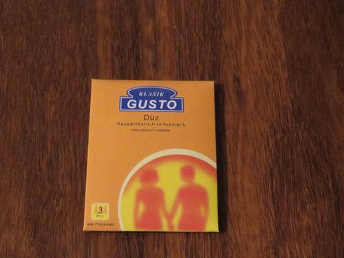 144 preservativos alemanes duz gusto en oferta