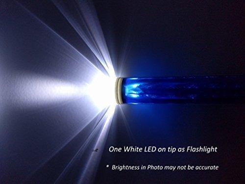 145 pulgadas azul linterna led de seguridad del trafico vari