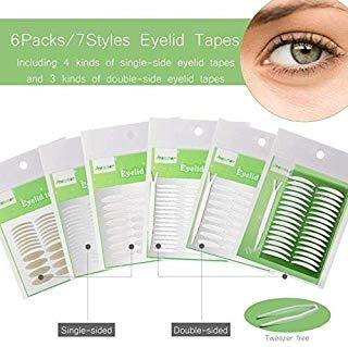 1456pcs/6packs/7styles cinta adhesiva invisible envio gratis
