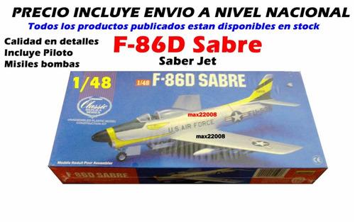 1/48 avion f 86d sabre tanque mirage barco auto mig fap 20