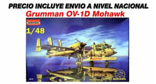 1/48 avion ov-1d mohawk tanque mirage sukhoi mig barco f14