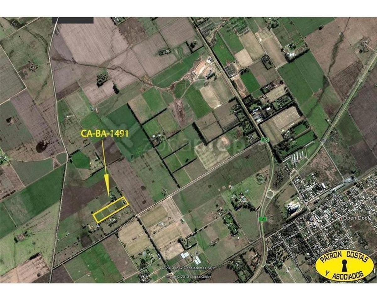 1491-hp-ruta 6 ruta 192 - luján - bs.as. g.b.a. zona oeste