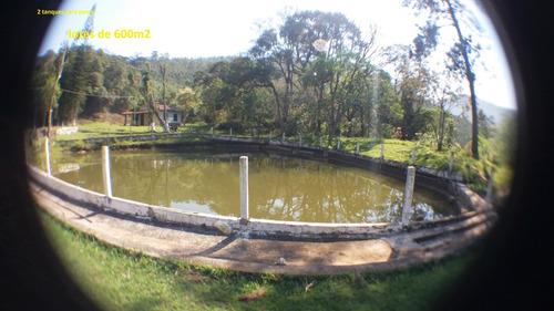 14b terreno com 2 tanques para pesca