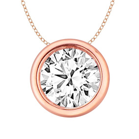abc55c6d1e39 Cadena Oro Blanco Con Diamante Solitario - Joyería en Mercado Libre ...